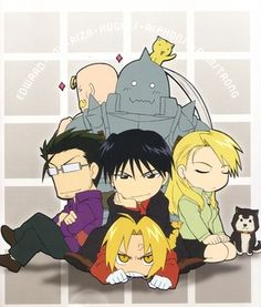 the only thing better than my favourite anime characters.....CHIBIS! :3