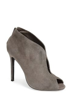 Grey Cutout Suede Ankle Boots by Steve Madden. Buy for $79 from Nordstrom