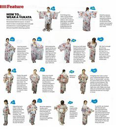 how to wear a yukata