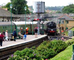 2008 07 08 Swanage Railway arrival