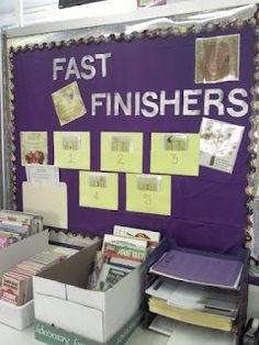 Fast Finisher Bulletin Board Spanish Class. Early Finishers, Activities, Foreign…