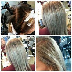 Horizontal Weave Hair Color Diagram 112