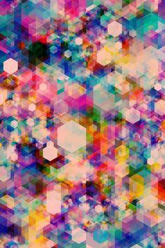 Conheça alguns trabalhos do artista gráfico Simon C. Page, que explora padrões geométricos, cores e evoca texturas em suas peças visualmente complexas e estimulantes.