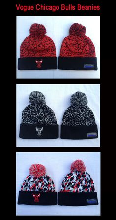 Vogue Chicago Bulls Beanies
