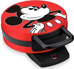 Mickey Waffle Maker Kitchen Appliance Non Stick #SelectBrands