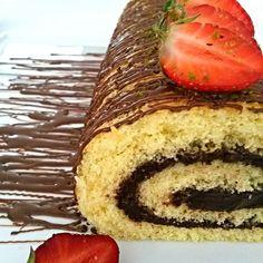 Yumuşacık kekin içinde çikolatalı krema ile gününüzü şenlendirmek istemezmisiniz @mutfaginyildizi #mutfaginyildizi ♥♥♥ RULO PASTA 4 adet…