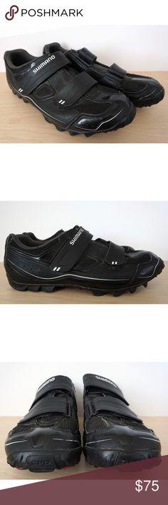 b6c2b98a754 SHIMANO Mens MTB Mountain Bike Cycling Shoes 8.9 SHIMANO Mens MTB Mountain  Bike Cycling Shoes Size US 8.9 EU 43 SH-M065L --Good condition, minor wear.