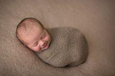 Боуи, 16 дней. Фотограф Эрин Элизабет специализируется на съемках новорожденных.