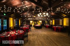 white red and black wedding reception | Whimsical Red and Black Wedding at Dubsdread | Orlando Wedding & Party ...