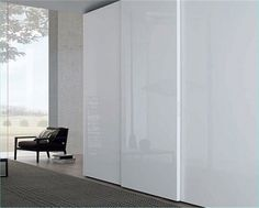 Mdf Sliding Wardrobe Doors uv high gloss color combination sliding door wardrobe