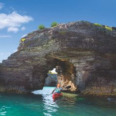 Grab a kayak and a buddy and head out on 's calm, clear waters. 14 Things To Do In Bermuda If You're, Like, Not Looking To Just Sit At The Beach Best Tropical Vacations, Bermuda Vacations, Bermuda Travel, Best Family Vacations, Family Cruise, Dream Vacations, Dream Trips, The Places Youll Go, Places To See