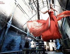 Suspended Fashion Snapshots - This Kristian Schuller Photography Portfolio