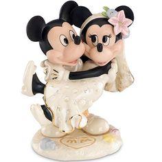 Lenox Disney Minnie's Dream Beach Wedding Figurine 836701 NEW