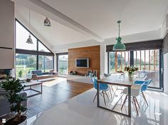 Jadalnia styl Minimalistyczny - zdjęcie od DOMY Z WIZJĄ - nowoczesne projekty domów - Jadalnia - Styl Minimalistyczny - DOMY Z WIZJĄ - nowoczesne projekty domów