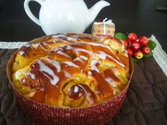 Apple bread - you want to - ★ secret of my home Pastry Recipes, Bread Recipes, Fruit Recipes, Dessert Recipes, Japanese Bread, Cooking Bread, Apple Bread, Bread And Pastries, Desert Recipes