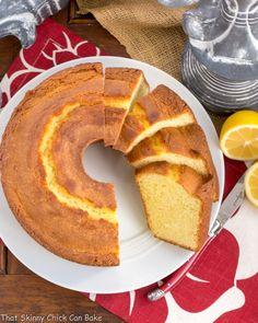 Greek Lemon Bundt Cake - a dreamy citrus cake with a moist, tender crumb! Poppy Seed Bundt Cake, Lemon Bundt Cake, Bundt Cakes, Pound Cake, Best Cake Recipes, Dessert Recipes, Desserts, Citrus Cake, Chicke Recipes