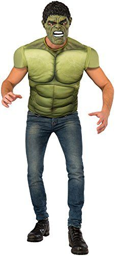[HALLOWEEN] Rubie's Men's Avengers 2 Age of Ultron Hulk Muscle Chest Costume and Mask - $26.28 with FREE SHIPING WORLDWIDE! 2 DAYS for ALL USA DELIVERY!!! visit our site ->>> http://HALLOWEEN-CLOTHES.CF