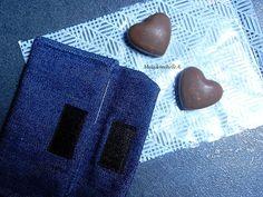    Oursons et coeurs maison au chocolat, fourrés aux pétales de maïs