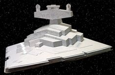 Star Wars - Imperial I-class Star Destroyer Free Paper Model Download