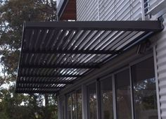 Fixed Louvers . - ECO Awnings