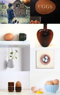 eggs by ms blue on Etsy--Pinned with TreasuryPin.com