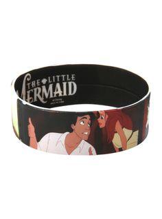 Disney The Little Mermaid Ariel & Eric Rubber Bracelet | Hot Topic