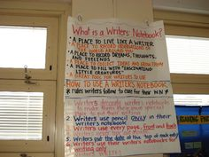 Just what is a writer's notebook?