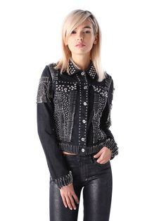 G-MISS-A, Black Embroidery Silver