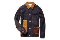 Junya Watanabe x Levi's, Contrast-Panel Denim Jacket.