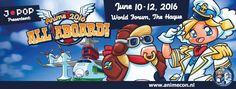 AnimeCon 2016: All Aboard - Den Haag, Nederland, Van 10 tot 12 juni 2016 ~ Anime Nippon~Jin - Kagi Nippon He