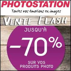 #missbonreduction; Vente Flash : jusqu'à -70% de remise sur une sélection de produits photo chez Photostation. http://www.miss-bon-reduction.fr//details-bon-reduction-Photostation-i852857-c1835842.html