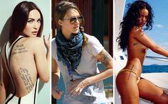 Δέκα σέξι διάσημες με τατουάζ - http://www.daily-news.gr/lifestyle/deka-sexi-diasimes-me-tatouaz/