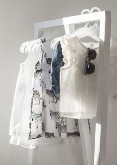 Baby girl's summer style, baby wardrobe via Coffee Table Diary blog