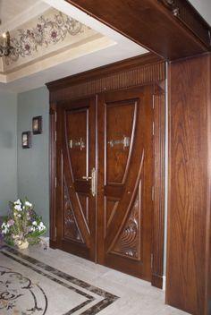 My Works Main Entrance Door, Entry Doors, Wooden Main Door Design, Wood Carving Designs, Wooden Swings, Modern Door, Wooden Doors, Interior Design Living Room, Modern Design