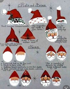 Santa Paintings, Christmas Paintings, Blue Christmas, Christmas Scenes, Christmas Ideas, Christmas Bulbs, Painting Lessons, Diy Painting, Painting Tutorials