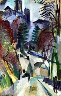 bofransson:  Laon Landacape Robert Delaunay - 1912