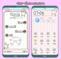 This theme name is Rabbit PinkTheme For Android Vivo Smartphone which owned by someone. This theme is not mine, We just want to share only this to our Co-VIVO user Cute Themes, My Themes, Organize Phone Apps, Hello Kitty Themes, Reading Themes, Android Theme, Phone Themes, Settings App, Cute Backgrounds