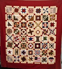 Beautiful, completed Civil War Commerative Quilts