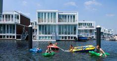 Bauen auf dem Wasser: Schwimmende Holländer - Drinnen & Draußen - FAZ