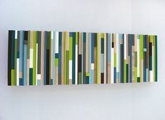 Popcycle Stick Wall art & Create Wall Art From Popsicle Sticks On The Cheap | Pinterest ...