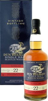 Clynelish, Dun Bheagan Vintage, 1990 22 year old. 70cl, 46%