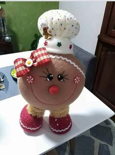 Gingerbread Crafts, Christmas Gingerbread, Christmas Candy, Christmas 2019, Christmas Decorations, Xmas, Christmas Ornaments, Christmas Hearts, All Things Christmas