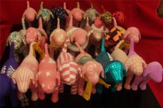 LOT OF 22 (TWENTY TWO) VICTORIA'S SECRET PINK Limited Edition PLUSH DOGS