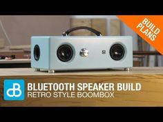 Retro Style Bluetooth Boombox Speaker Build - by SoundBlab - YouTube