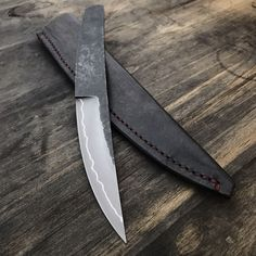 """1,269 Likes, 39 Comments - Marc Weinstock - Knifemaker (@marcweinstock) on Instagram: """"Finished up the sheath for this one. It will be available for purchase later tonight at…"""""""
