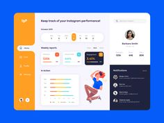 Every day most digital designers look for inspiration on sources like Dribbble or Behance for mobile and webdesign UI/UX works. Dashboard Design, Dashboard Interface, Web Ui Design, Interface Design, Form Design, Design Layouts, Brand Design, Design Design, Graphic Design