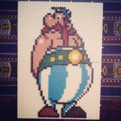sandylandya@outlook.es  Obelix hama beads by aitorpenabilbao