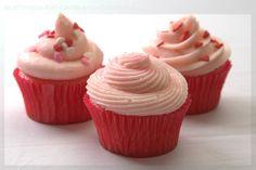 Pink Lemonade Cupcakes :)