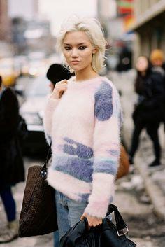 Vanessa Jackman: New York Fashion Week AW 2014....Charlotte