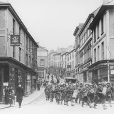Troops in Falmouth, Cornwall, preparing for the D-Day landings. Places In Cornwall, Falmouth Cornwall, D Day Landings, My Family History, Story Setting, Maritime Museum, St Ives, Medieval Castle, Historical Photos